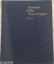 Synopsis of the Four Gospels English Edition © 1982 Kurt Aland Editor HB 361 Pgs
