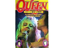 QUEEN An Official Biography ONGAKU SENKA SPECIAL MAG JAPAN 1977 Freddie Mercury