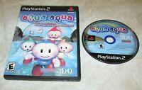 Aqua Aqua for Playstation 2 Fast Shipping!