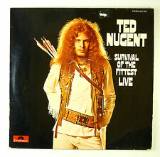 "12"" LP - Ted Nugent - Survival Of The Fittest - Live - B3584 - washed & cleaned"