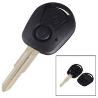 KE_ 2 Button Car Remote Key Shell Fob Case Cover for Ssangyong Actyon Kyron Re