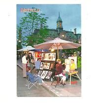 PLACE JACQUES CARTIER AT DUSK, MONTREAL, QUEBEC, CANADA CHROME POSTCARD