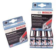 BOSCH OE FINE WIRE PLATINUM Spark Plugs 0242230570 6725 Set of 8