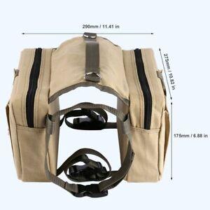 Outad  Hunde Satteltasche Multifunktion Rucksack Für Hund Packtasche  Camping DE
