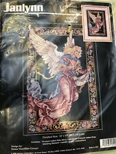 Janlynn Counted Cross Stitch Kit Angelica NOS 1996 New NIP
