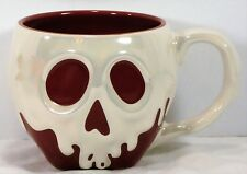Disney Parks Exclusive Snow White Poison Apple Ceramic Coffee Mug Cup NEW CUTE