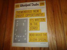 Vintage Whirlpool Wringer Washer Merchandising Kit Poster Advertising