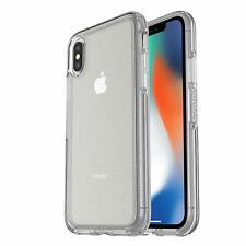 Genuine OtterBox iPhone XS & X Symmetry Tough Clear Case Cover - Stardust
