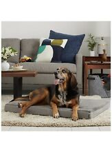 """Dog Bed Plush Memory Foam Orthopedic Durable Removable Cover K9 Large 26""""-36""""-3"""""""
