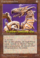 Macchina Drago (Dragon Engine) Magic limited black bordered German Beta FBB for