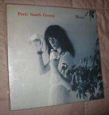 PATTI SMITH WAVE LP NEAR MINT FREE SHIPPING