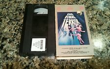 THE FINAL TERROR VHS! SLASHER HORROR! 1984 Friday The 13th Scary Movie 2