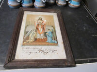 1899 Souvenir de La Première Communion Sur Carreau
