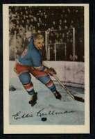 1952-53 Parkhurst #18 Ed Kullman EXMT+ NY Rangers A4842