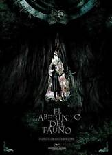 PAN'S LABYRINTH Movie Promo POSTER Spanish C Ivana Baquero Doug Jones S
