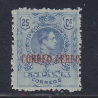 ESPAÑA (1920) NUEVO CON FIJASELLOS MLH - EDIFIL 294 (25 cts) ALFONSO XIII LOTE 1