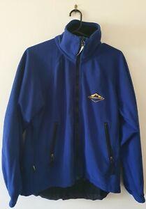 "MOUNTAIN DESIGNS ""Storm"" Windstopper Fleece Full Zip Blue Hiking Camping Jacket"