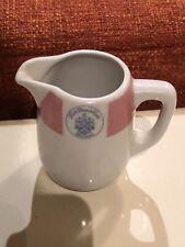 Vintage Bauscher Weiden Pink Beach Club Bermuda Logo Cream Pitcher Creamer