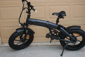 Bafang Electric Folding Ebike Bicycle 750 W Samsung Battery Hydraulic Brakes