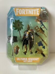 Fortnite Ultima Knight Hot Drop 4-inch Action Figure New and Sealed