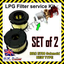 LPG GPL BRC ET98 solenoid filter cartridge KIT with O-rings repair overhaul kit