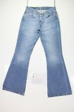 Levis 544 Flare Bootcut Cod. J884 Tg42 W28 L34 vaqueros usados Mujer Talle Bajo