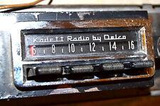 OPEL KADETT DELCO AM PB RADIO 7312234 69 70 71 72 SVCD