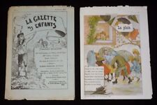 The Gazette of Enfants (No ° 2 the 10 Janvier 1892)