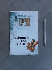 CATALOGUE CASTERMAN NOËL 1978 COMPLET TRÈS BON ETAT