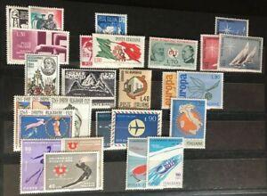 1965-1979 ITALIA Francobolli Repubblica Annate complete MNH (502 valori)