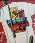 (2) Vtg NOS Marlboro Southwest Country Store Cigarette Rodeo State Fair T-Shirts