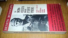 BENITO MUSSOLINI-LA DEMOCRAZIA DALLE PANCE PIENE-OTTOBRE 1967-SR99