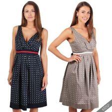 Animal Print Sleeveless Retro Dresses for Women