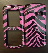 LG BANTER AX265/UX265 BLACK AND PINK ZEBRA PROTECTOR COVER NEW