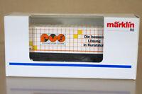 MARKLIN MäRKLIN 49 SONDERSERIE PVS KUNSTOFF TECKNIC CONATINERWAGEN CONTAINER nc