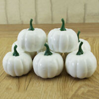 10 Pcs Halloween Artificial Mini Foam Pumpkin Simulation Prop Garden Party Decor
