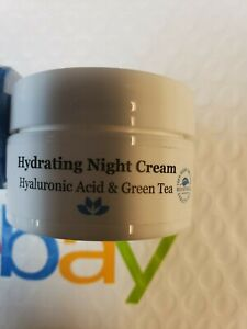 """DERMA E """"HYDRATING"""" : NIGHT CREAM 1/2 oz / Larger Deluxe Sample NEW"""