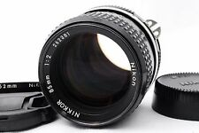 [Exc++++] Nikon Ai Nikkor 85mm f/2 MF Lens w/Case,Filter From Japan #220