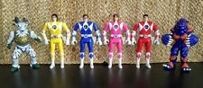 1994 Bandai Mighty Morphin Power Rangers Original Flip Head Action Figures