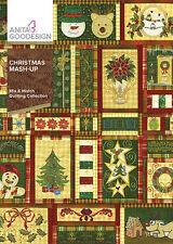 Anita Goodesign Embroidery Machine Design Cd Christmas Mash Up