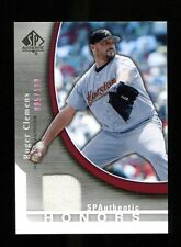 Roger Clemens 2005 SP Authentic Honors Jersey 85/130 #SH-RC Astros Mint 30660