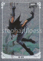 2018 Upper Deck Marvel Masterpieces HoloFoil Insert 2 of 20 X-23