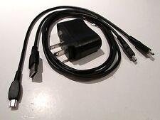 TI-84 Plus C SE, TI-89 TITANIUM, TI-NSPIRE / 2 x USB cord with AC/ wall charger