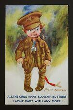 WW1 Postcard 4th June 1915 Soldier Creffield Road Colchester Essex Fred Spugin