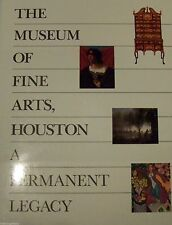 COFFEE TABLE ART BOOK THE MUSEUM OF FINE ARTS HOUSTON A PERMANENT LEGACY -MARZIO