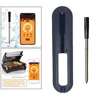 33ft Range Wireless BBQ Steak Thermometer Bluetooth für Backofen Grill Raucher