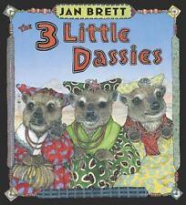 THE 3 LITTLE DASSIES (Brand New Hardcover) Jan Brett