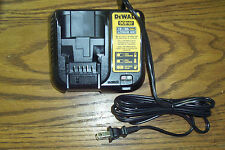 GENUINE DEWALT DCB107 BATTERY CHARGER FOR 20 OR 12 VOLT Li Ion  BATTERIES