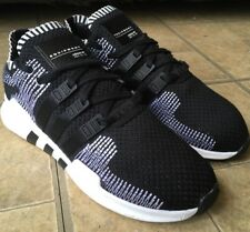 Adidas EQT Support Primeknit Core Black Oreo Running Shoes BY9390 Men Size 7.5