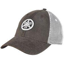 Yamaha Tuning Fork Mesh Hat in Gray - One Size - Genuine Yamaha - Brand New